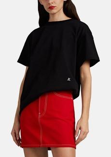 Helmut Lang Women's Ring-Detailed Cotton T-Shirt