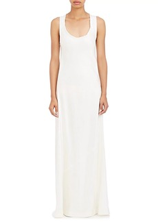 Helmut Lang Women's Satin Twill Tank Dress
