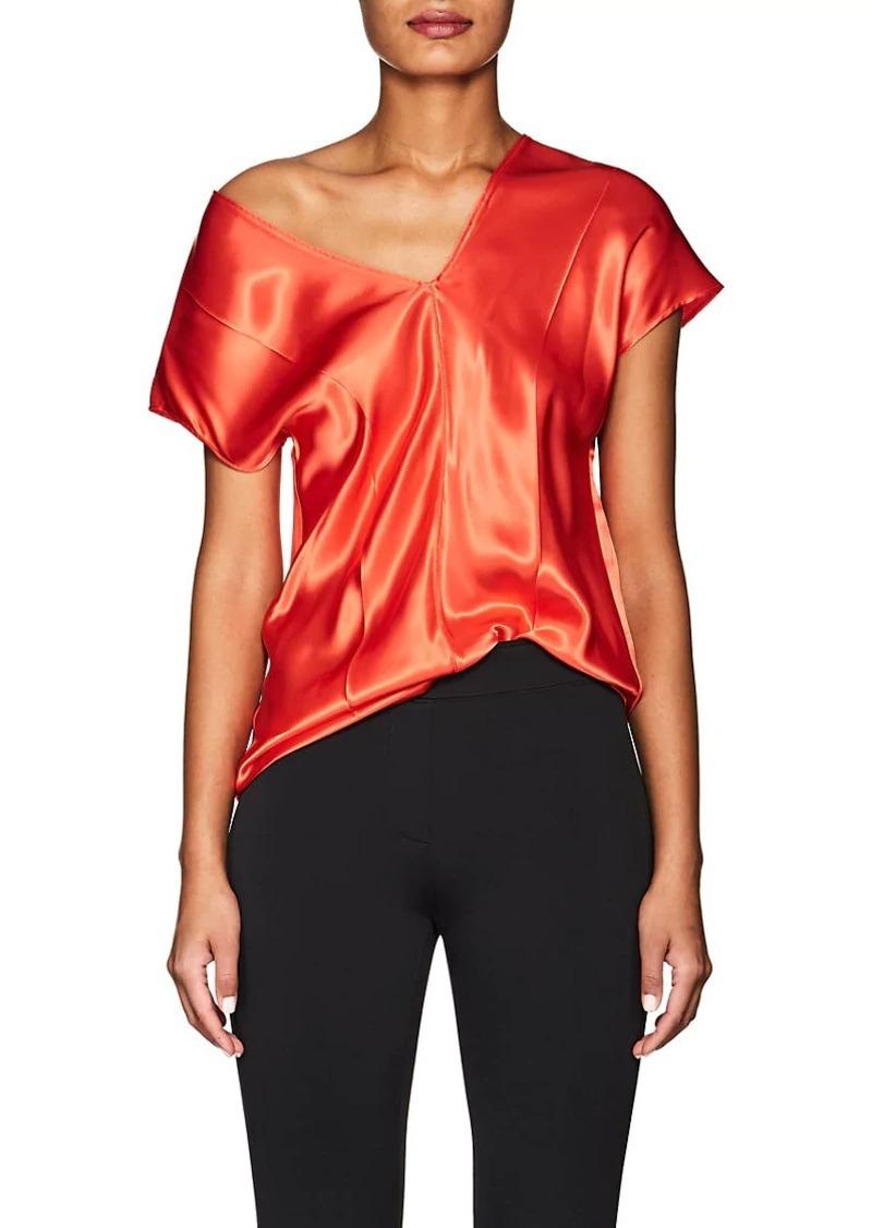 0f9950f2a0a Helmut Lang Helmut Lang Women's Satin V-Neck Top | Casual Shirts