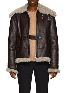 Helmut Lang Women's Shearling Aviator Jacket