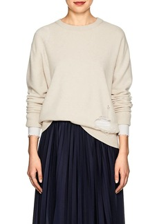 Helmut Lang Women's Shredded Wool Sweater