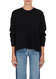 Helmut Lang Women's Side-Slit Wool-Blend Sweater