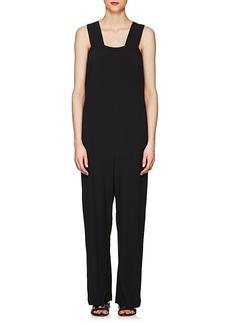 Helmut Lang Women's Side-Tie Crepe Jumpsuit