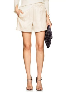 Helmut Lang Women's Silk-Blend Shorts