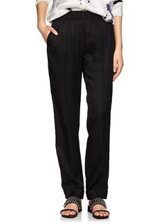 Helmut Lang Women's Silk-Blend Suit Pants