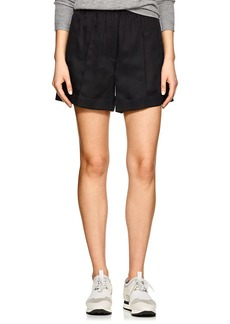 Helmut Lang Women's Silk-Blend Suit Shorts