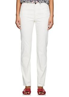 Helmut Lang Women's Slim Creased-Leg Jeans