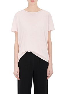 Helmut Lang Women's Split-Back Jersey T-Shirt