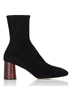 Helmut Lang Women's Square-Toe Leather Boots