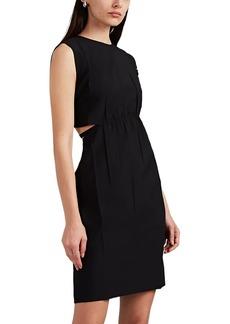 Helmut Lang Women's Strap-Detailed Cutout Shift Dress