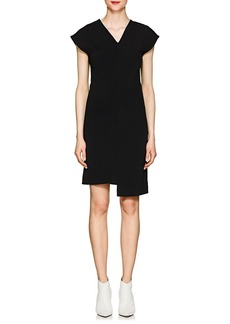 Helmut Lang Women's Stretch-Twill Shift Dress