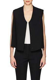 Helmut Lang Women's Stretch-Wool Crop Vest