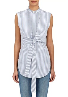 Helmut Lang Women's Striped Cotton Layered Shirt