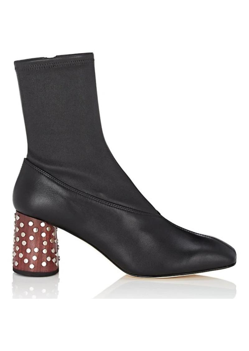 Helmut Lang Helmut Lang Women s Studded-Heel Leather Boots 6f5ed0d1b5