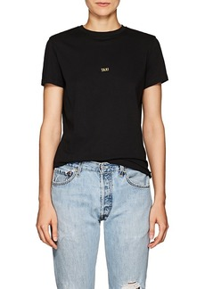 "Helmut Lang Women's ""Taxi"" Cotton T-Shirt"