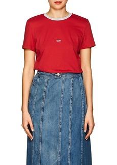 "Helmut Lang Women's ""Taxi"" Cotton T-Shirt"