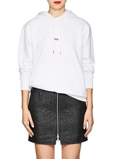 "Helmut Lang Women's ""Taxi"" Cotton Terry Hoodie"