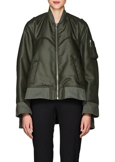 Helmut Lang Women's Tech-Canvas Four-Sleeve Bomber Jacket