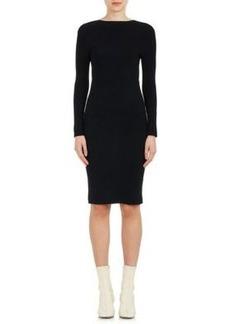 Helmut Lang Women's Tie-Back Rib-Knit Dress