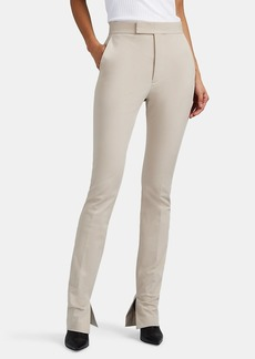 Helmut Lang Women's High-Rise Boot-Cut Trousers