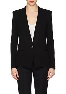 Helmut Lang Women's Twill One-Button Blazer