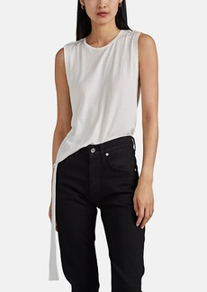 "Helmut Lang Women's ""Twist"" Silk-Cotton Tank"