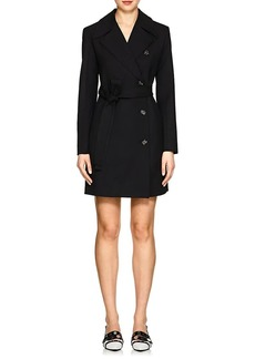 Helmut Lang Women's Virgin Wool Trench Dress