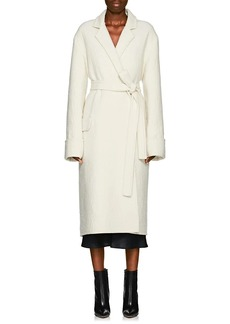 Helmut Lang Women's Wool Blanket Coat