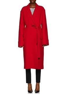 Helmut Lang Women's Wool Blanket Coat