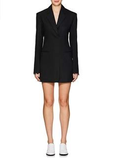 Helmut Lang Women's Wool-Blend Herringbone Blazer Minidress
