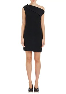 Helmut Lang Women's Wool-Blend One-Shoulder Minidress