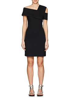 Helmut Lang Women's Wool-Blend Scuba Minidress