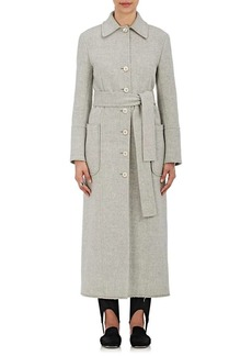 Helmut Lang Women's Wool-Cashmere Belted Coat