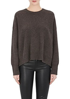 Helmut Lang Women's Wool-Cashmere Open-Back Sweater