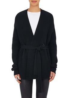 Helmut Lang Women's Wool-Cashmere Wrap Cardigan