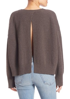 Helmut Lang Wool & Cashmere Long Sleeve Pullover