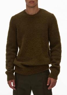 Helmut Lang Wool Blend Crewneck Sweater