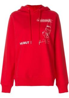 Helmut Lang x Shayne Oliver hoodie - Red