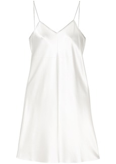 Helmut Lang zip detail slip dress - Nude & Neutrals