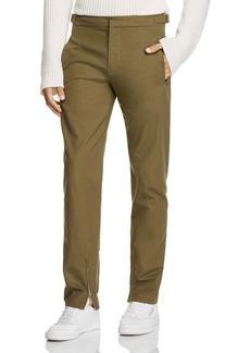 Helmut Lang Zip-Hem Regular Fit Pants