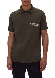 Helmut Lang Zip Polo Shirt