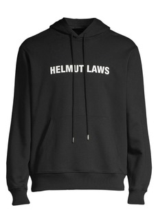 Helmut Lang Helmut Laws Graphic Hoodie