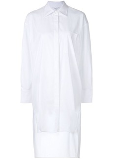 Helmut Lang high low shirt dress
