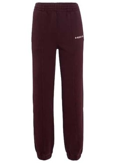 Helmut Lang High-rise cotton jersey sweatpants