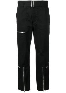 Helmut Lang high rise parachute trousers