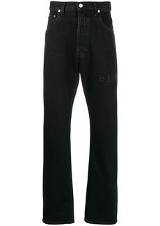 Helmut Lang high-rise straight leg jeans
