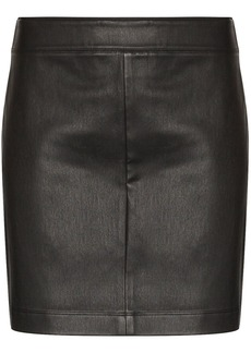 Helmut Lang high-waist mini skirt