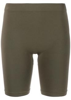 Helmut Lang high-waisted cycling shorts