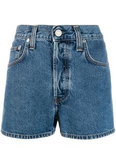 Helmut Lang high-waisted denim shorts