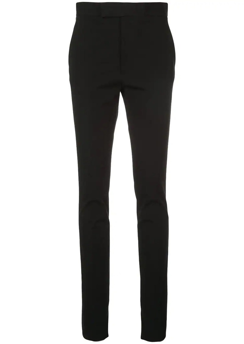 Helmut Lang high waisted skinny trousers